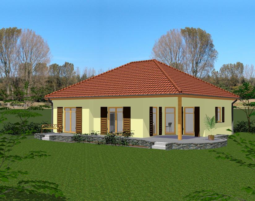 pin bungalow bauen haus sl picture on pinterest. Black Bedroom Furniture Sets. Home Design Ideas
